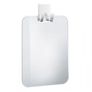 Smedbo Outline line Plastové zrkadlo so samolepiacim háčikom 150 x 220 mm, pochrómovaná nerezová ocel FK620