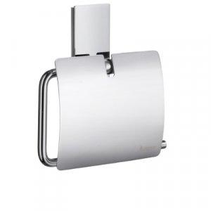 Smedbo Pool Držiak toaletného papiera s krytom leštený chróm ZK3414