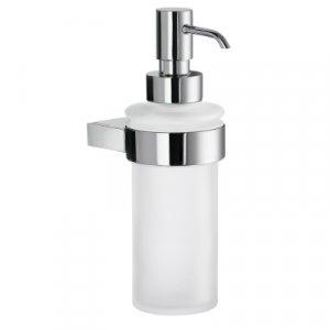 Smedbo Air Dávkovač tekutého mydla 180 mm, leštený chróm, matné sklo AK369