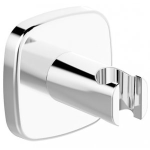 HANSA DESIGNO Nástenný držiak sprchy ružica soft edge chróm 44440183