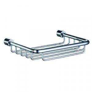 Smedbo Sideline Odkladacia polička do sprchy 135 x 95 mm, leštený chróm DK1005