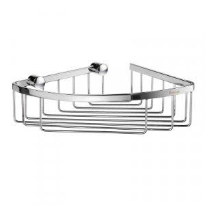 Smedbo Sideline Dizajnový košík na mydlo, rohový 195 x 195 mm, rôzne prevedenia
