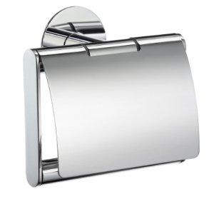 Smedbo Time Držiak toaletného papiera s krytom leštený chróm YK3414