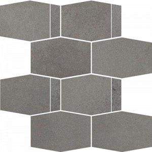 Paradyz Naturstone 23,3 x 28,6 x 0,9 cm grafit matný MC286X2331NATEGTHMX Mozaika