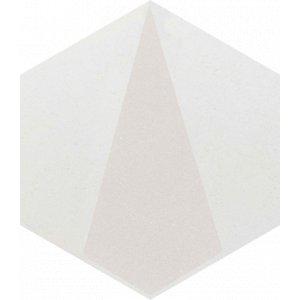Paradyz Esagon 17,1 x 19,8 x 0,75 cm concrete inserto B matný I198X1711ESAGSICOB Obklad