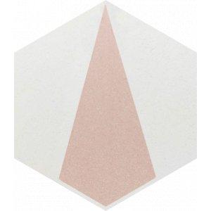 Paradyz Esagon 17,1 x 19,8 x 0,75 cm concrete inserto D matný I198X1711ESAGSICOD Obklad