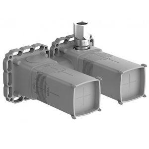 HANSA MATRIX/BLUEBOX Podomietkové teleso, DN 15 pre 2-otvorové nástenné pákové batérie 44000100