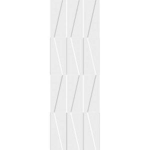 Paradyz Tel awiv 29,8 x 89,8 x 0,9 cm bianco, štruktúra C SSR298X8981TELABIC Obklad