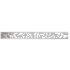 Alcaplast Rošt pre líniový podlahový žľab, nerez-lesk CODE