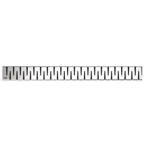 Alcaplast Rošt pre líniový podlahový žľab, nerez ZIP