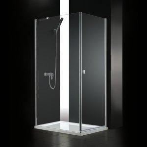 Aquatek GLASS Sprchový kút R11 100x80