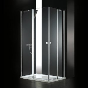 Aquatek GLASS Sprchový kút R14 100x80