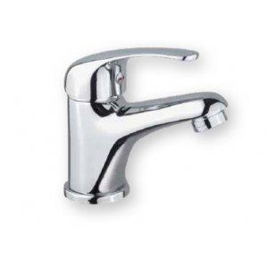 Mereo Lila Batéria umývadlová stojanková chróm CBEE10103