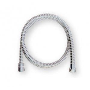 Mereo Sprchová hadica plastová biela/chróm CB110R