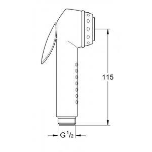 Grohe Trigger Spray 28020F00 Ručná sprcha