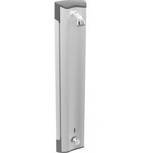 HANSA ELECTRA Bezdotykový hliníkový sprchový panel s termostatom chróm 64152200