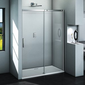 Aquatek ZEUS Sprchové dvere s jednými zásuvnými dverami