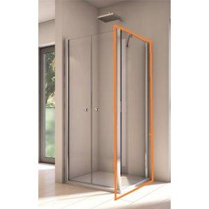 SanSwiss Solino SOLT2 Bočná stena pre kombináciu s 2-krídlovými dverami rôzne rozmery