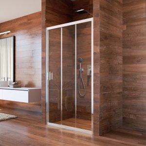 Mereo Lima Sprchové dvere zasúvacie, trojdielne rôzne prevedenie
