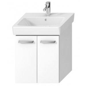 Jika Lyra plus H40J3932003001 Skříňka s 2 dveřmi pod umyvadlo bílá, 55 cm (H40J3932003001)