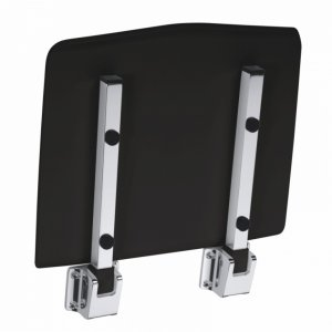 Bemeta Sprchové sedátko 150 kg, čierna lesk 203125064