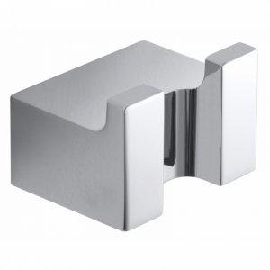 Bemeta VIA Vešiačik dvojitý 37x26x30 mm, chróm 135006232