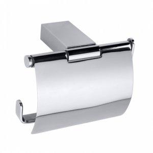 Bemeta VIA Držiak toaletného papiera s krytom 130x95x90 mm, lesk 135012012