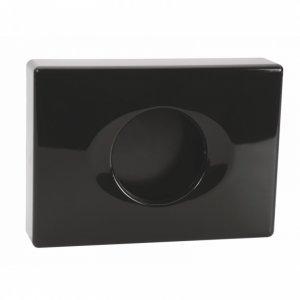 Bemeta DARK Zásobník hygienických sáčkov, plast mat 138x99x27 mm, čierna 101403030
