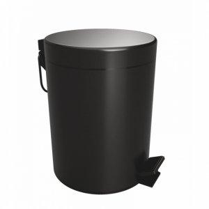"""Bemeta DARK Odpadkový kôš 5L """"Soft Close"""" čierna 104315010"""