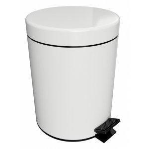"Bemeta WHITE Odpadkový kôš 5L ""Soft Close"" biela 104315014"