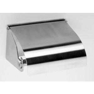 Bemeta Hotelové vybavenie Držiak WC papiera  140x80/190x100 mm, brus 105112315
