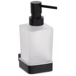 Bemeta NERO Dávkovač tekutého mydla 250 mm, čierna 135009040