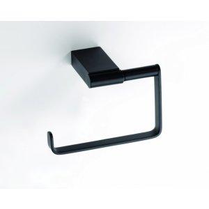 Bemeta NERO Držiak toaletného papiera bez krytu 131x90x75 mm, čierna 135012220