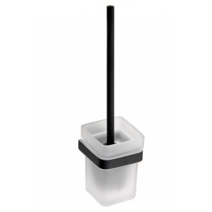 Bemeta NERO WC Kefa 93x385x127 mm, čierna 135013010