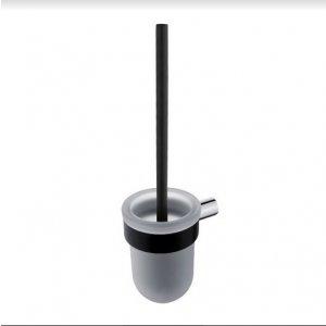 Nimco Nava WC kefa chróm – čierny mat