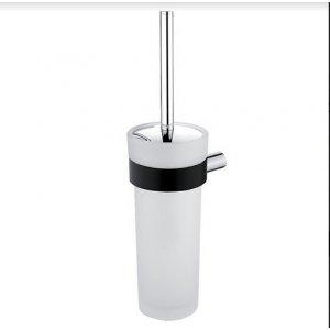 Nimco Nava WC kefa chróm – čierny mat NA 28094W (NA28094W)