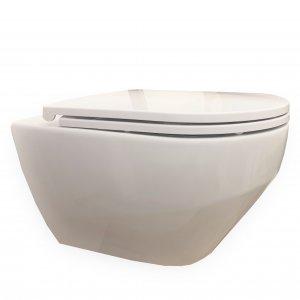 VILAN Zante Závesné WC + sedadlo keramika 1712041 00 10700 PP (17120410010700PP)