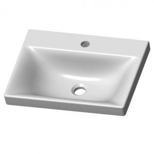 VILAN Vea Umývadlo na dosku/skrinku keramika VEA49 (VEA49)