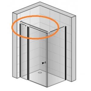 SanSwiss Solino SMGTS.06.1500 Stabilizační vzpěra, upevnění stěna-sklo-T-kus
