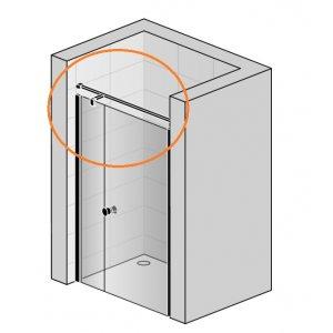 SanSwiss Solino SMMS2.06.1500 Stabilizační vzpěra, upevnění stěna-stěna-T-kus