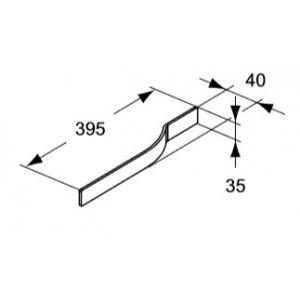 IDEAL Standard Adapto Držiak na uterák Onda Chróm U8425AA