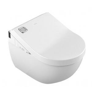 Villeroy & Boch ViClean VICLEAN WC s hlbokým splachovaním bez vnútorného okraja 370 x 560 mm 5614R4R1