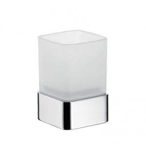 Emco Loft Držiak na sklený pohár, Satin krištáľ, stojaci typ rôzne prevedenia