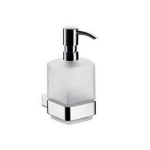 Emco Loft Dávkovač na tekuté mydlo, nádoba Satin Krištáľ, čerpací plastový typ, nástenné rôzne prevedenia