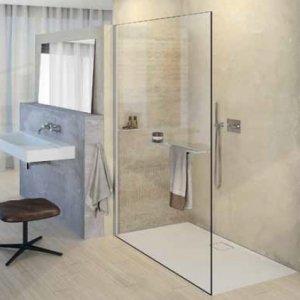 Huppe Select+ Bočná stena samostatne stojaca, 10 mm rôzne vyhotovenia