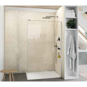 Huppe Select+ Bočná stena samostatne stojaca, 6 mm rôzne vyhotovenia