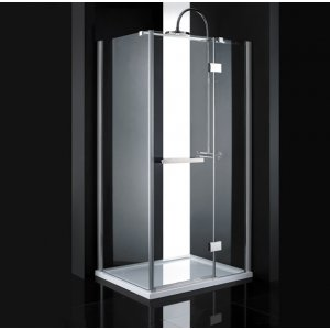 Aquatek CRYSTAL Sprchový kút R13 100x80 CRYSTALR13CH100X8062