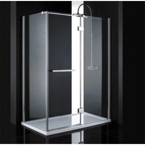 Aquatek CRYSTAL Sprchový kút R43140x80 CRYSTALR43CH140X8062