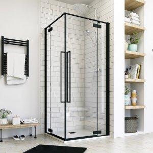 Aquatek JAGUAR Sprchový kút štvorcový s dvomi otváracími dverami A4 90x90 JAGUARA4CR9062