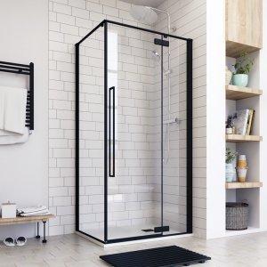 Aquatek JAGUAR Sprchový kút obdĺžnikový s jednými otváracími dverami R13 100x80 JAGUARR13CR100X8062
